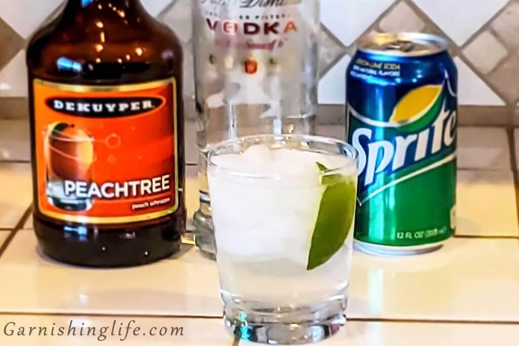 Peach Vodka Soda
