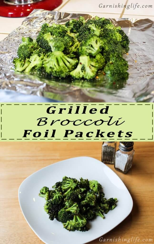 Grilled Broccoli Foil Packet Pin
