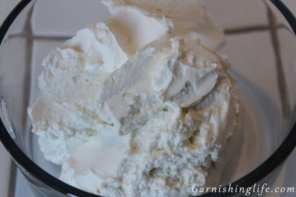 Homemade Whipped Cream