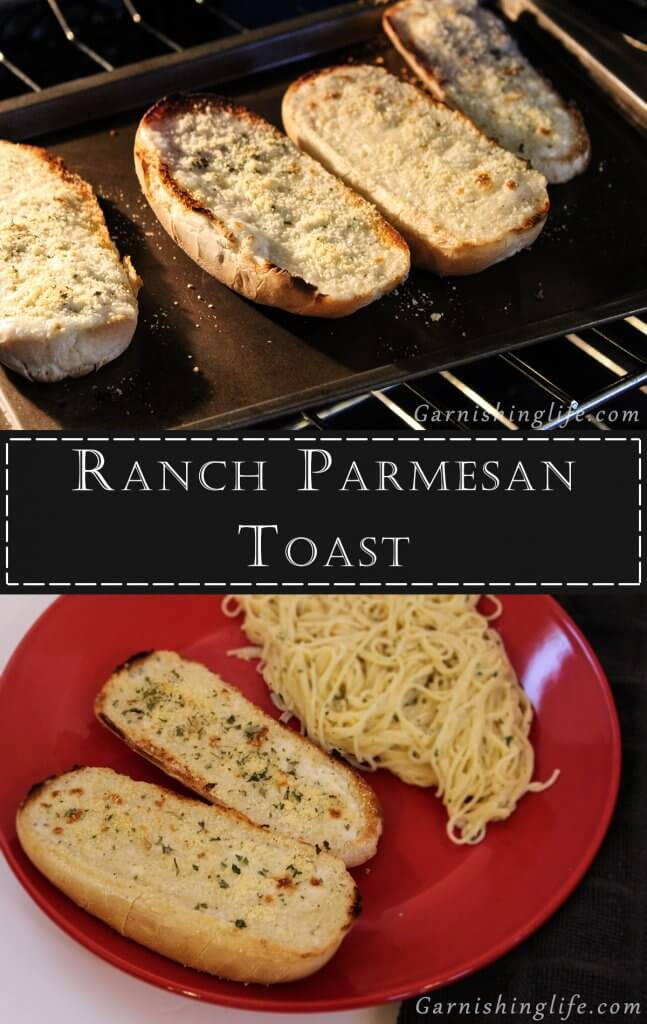 Ranch Parmesan Toast