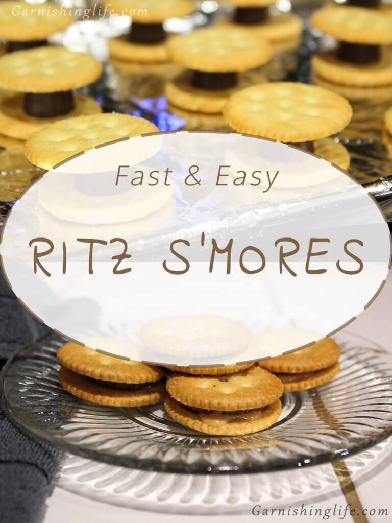 Ritz S'mores