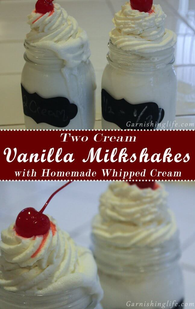 Two Cream Vanilla Milkshake