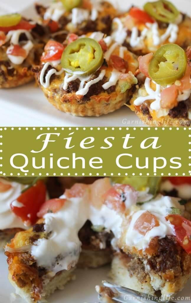 Fiesta Quiche Cup