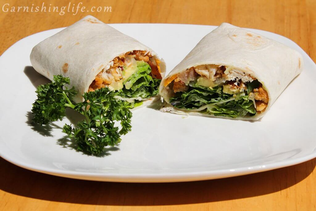 Chicken Avocado Bacon Wrap