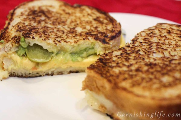 Guacamole Jalapeno Grilled Cheese