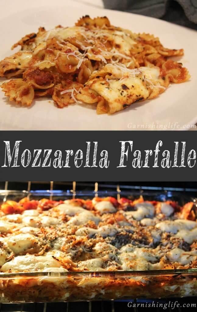 Mozzarella Farfalle