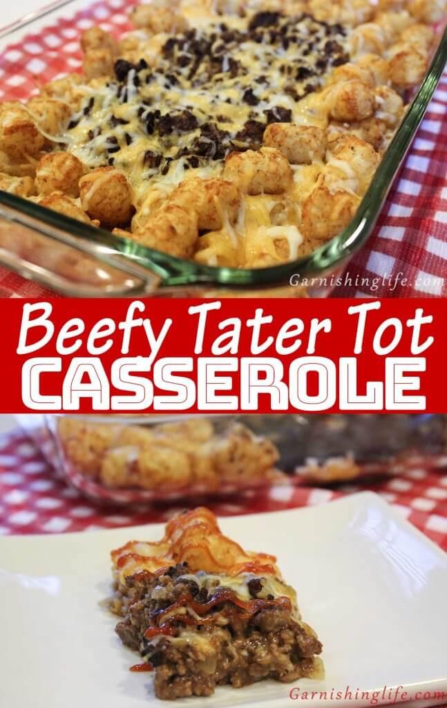 Beefy Tater Tot Casserole