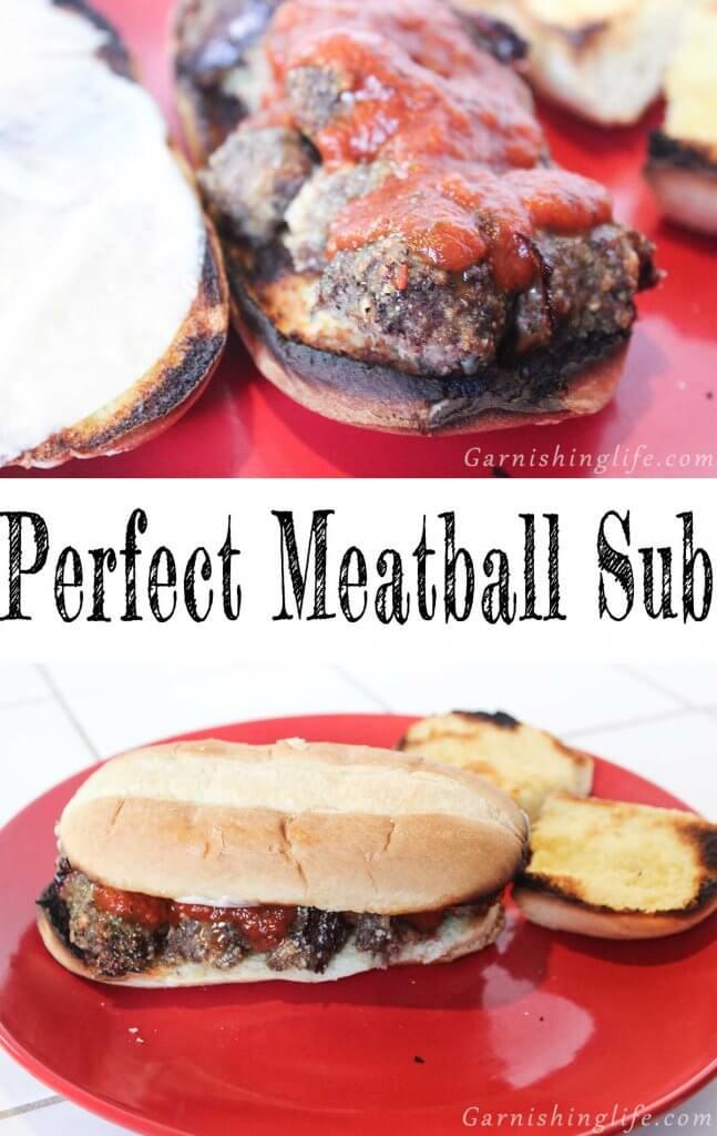 Perfect Meatball Sub