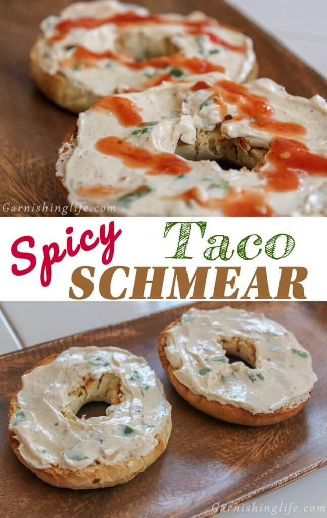 Spicy Taco Schmear