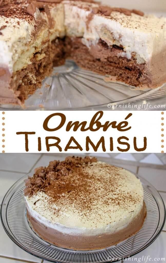 Ombré Tiramisu
