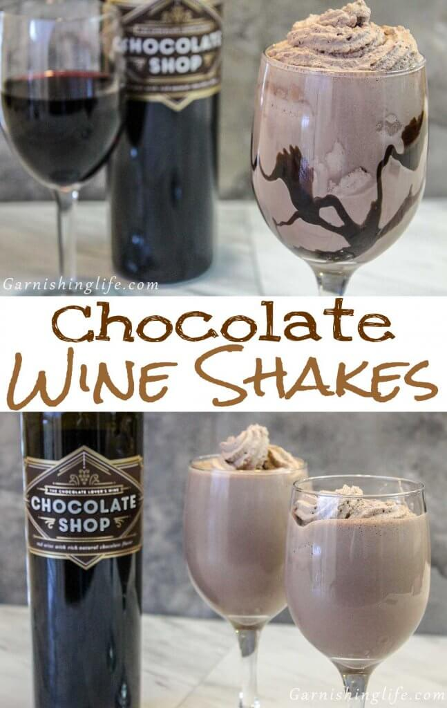 Chocolate Wine Shakes
