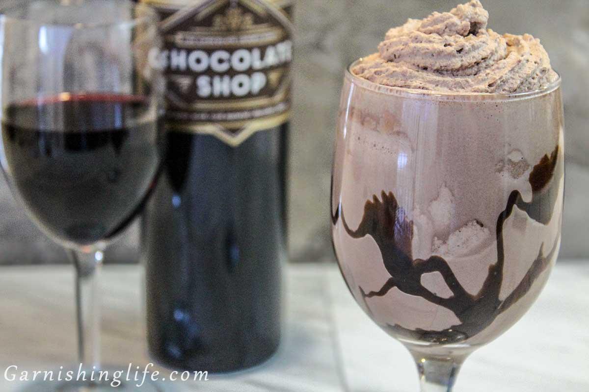 Chocolate Wine Shakes