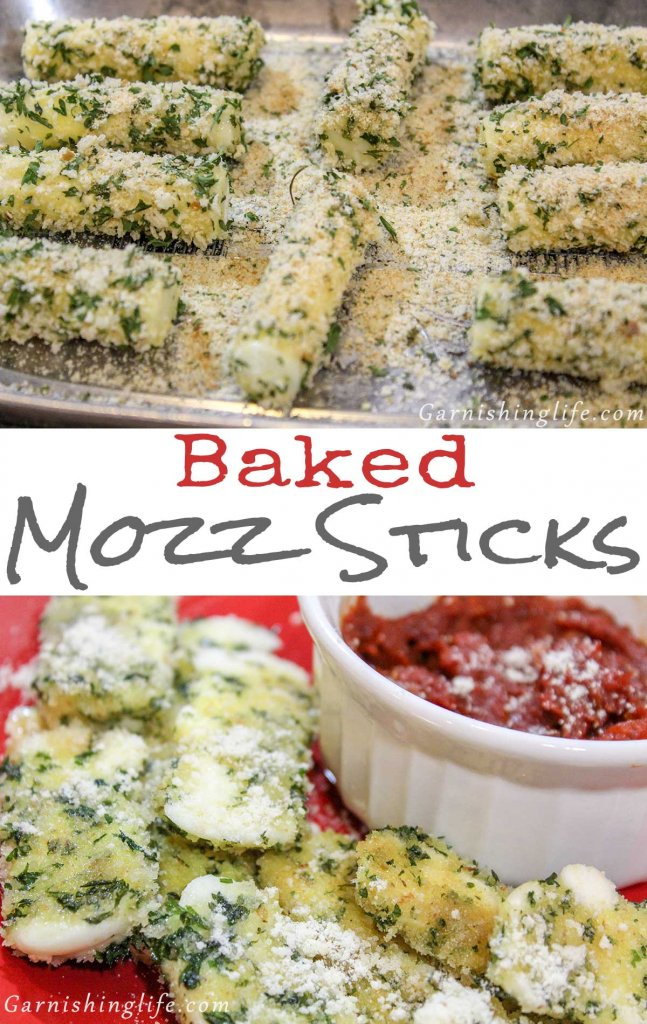 Baked Mozz Sticks