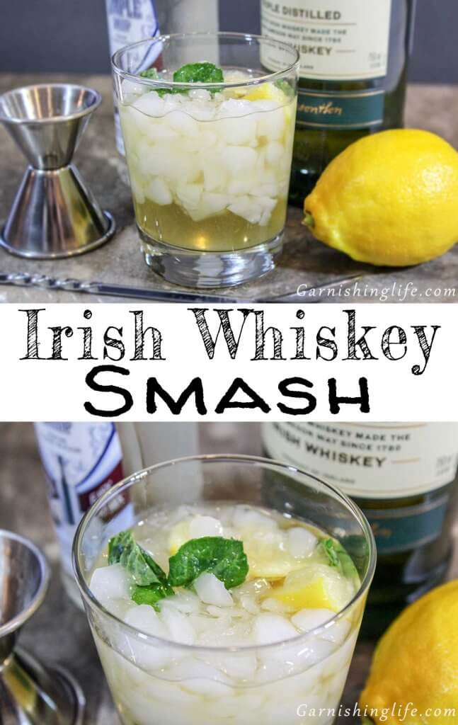 Irish Whiskey Smash