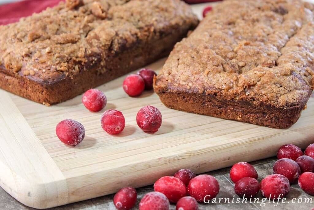 Cran-Banana Bread