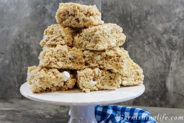 Brown Butter and Sea Salt Rice Krispie Treats Final